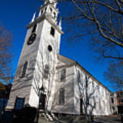Trinity Church Newport Rhode Island Poster