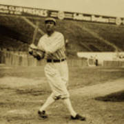 Tris Speaker With Boston Red Sox 1912 Poster