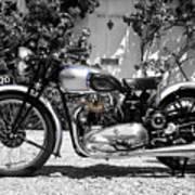 Triumph Tiger 100 1939 Poster