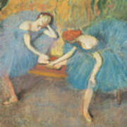 Two Dancers At Rest Poster