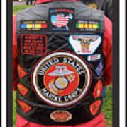 Us Marine Corps Viet Nam Veteran Peart Park Casa Grande Arizona 2005 Poster