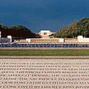 U.s. World War II Memorial Poster
