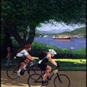 Vancouver Bike Ride Poster Poster