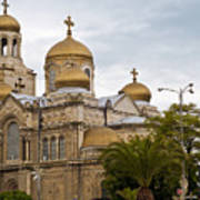 Varna Cathedral,bulgaria Poster