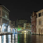 Romantic Venice  Poster