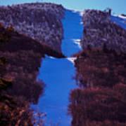 Vermonts Sugarbush Mountain Poster