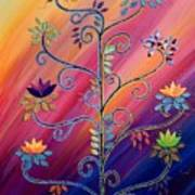 Vibrant Tree Of Life Poster