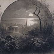 View From Greenwood Cemetery Poster