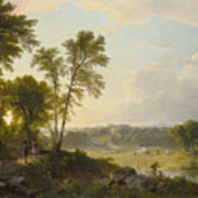 View Toward The Hudson Valley Poster