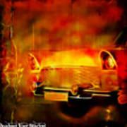 Vintage Car 2 Neons Edition Poster