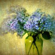 Vintage Lilac Poster by Jessica Jenney