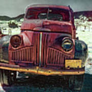Vintage Studebaker Truck Poster