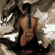 Violin Lady  Poster