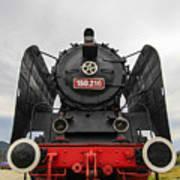 Viseu De Sus Steam Engine Poster