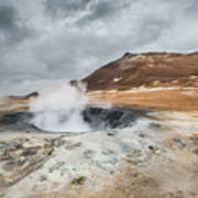 Volcanic Landscape Poster
