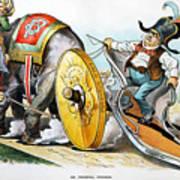 W. Mckinley Cartoon, 1896 Poster