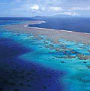 Wakaya Island Aerial Poster