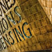 Wales Millennium Centre Poster