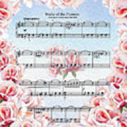 Waltz Of The Flowers Pink Roses Poster