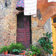 Washing Day Tuscany Poster
