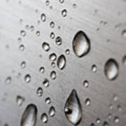 Water Drops Poster by Frank Tschakert