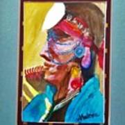 Water Healing Ceremonial Chief Yaz Poster