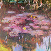 Water Lilies 1917 Poster