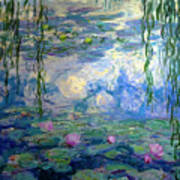 Water Lilies, Nympheas, By Claude Monet,  Musee Marmottan Monet, Poster