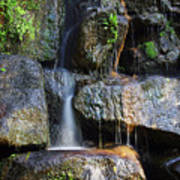 Waterfall Poster by Carlos Caetano