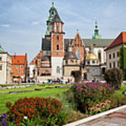 Wawel Cathedral In Krakow Poster