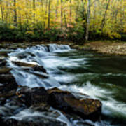 Whitaker Falls In Autumn Poster