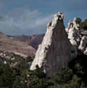 White Rock, Garden Of The Gods Poster