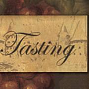 Wine Tasting Collage  Poster