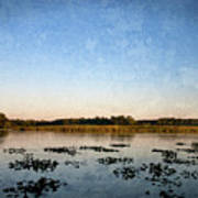 Wingfoot Lake Poster