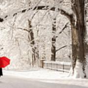 Winter Walk Poster