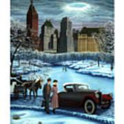 Winter Wonderland Poster by Tracy Dennison
