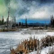 Winters Marsh Poster
