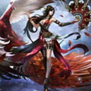 Women Warrior Poster
