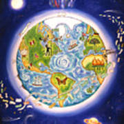 World Economy Poster