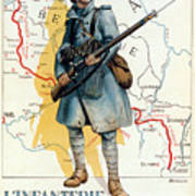 World War I: French Poster Poster