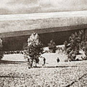 World War I: Zeppelin Poster
