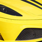 Yellow Stradale Poster