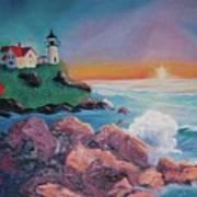 York Beach Maine Poster