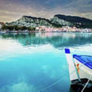 Zaante Town, Zakinthos Greece Poster