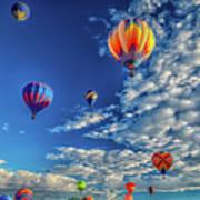 Albuquerque Hot Air Balloon Fiesta 2016 Photograph By