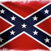 Confederate Flag 10 Poster