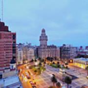 Montevideo, Uruguay Poster
