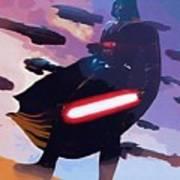 Saga Star Wars Poster Poster