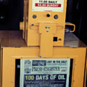 100 Days Of Oil Poster