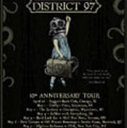 10th Anniversary Tour Poster